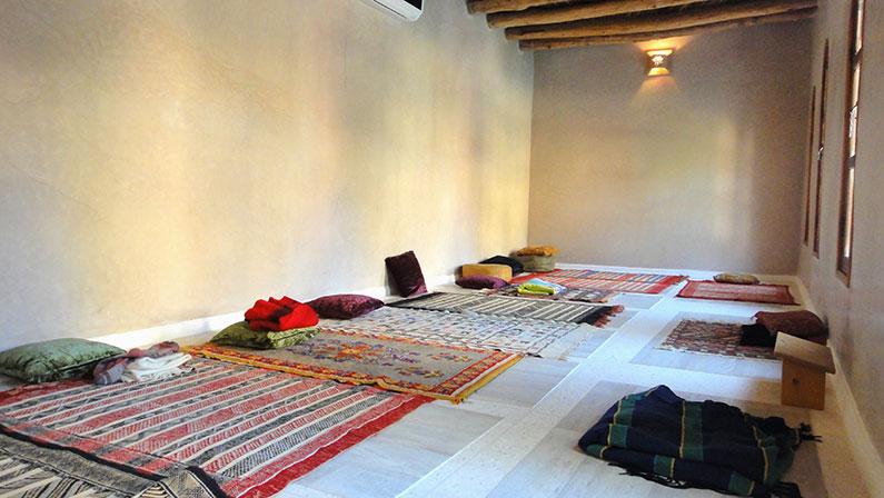 Yoga woestijnreis Marokko