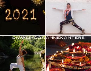 Diwali Yoga gedicht geschreven op 27 april 2020